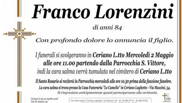Lorenzini Franco