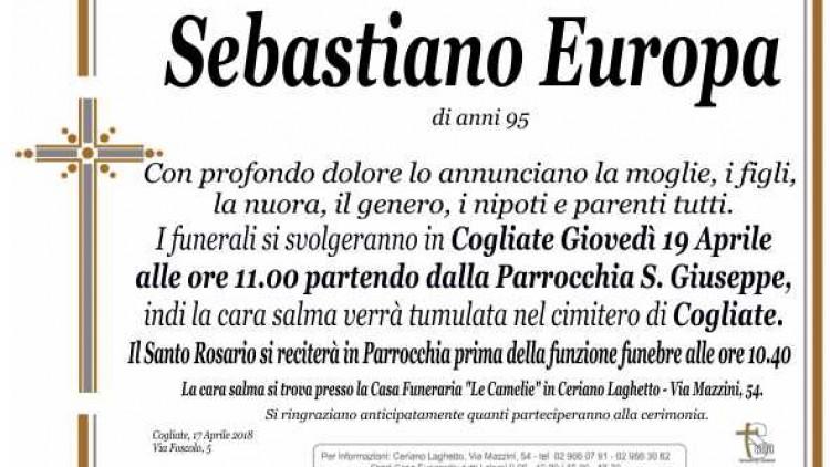 Europa Sebastiano