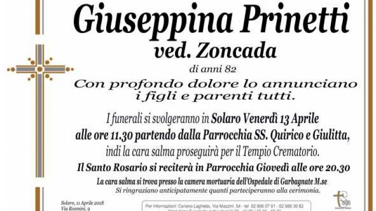Prinetti Giuseppina