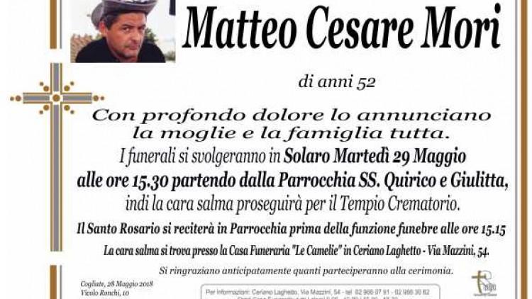 Mori Matteo Cesare