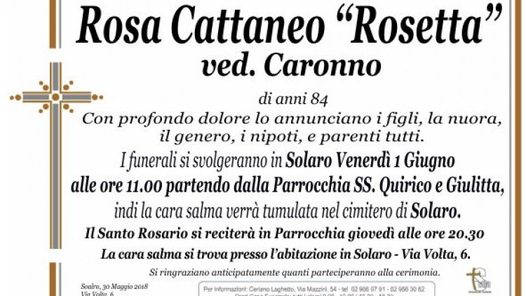 Cattaneo Rosa