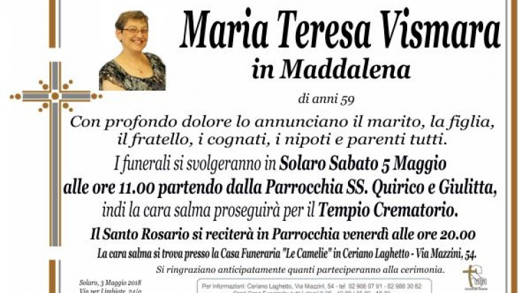 Vismara Maria Teresa