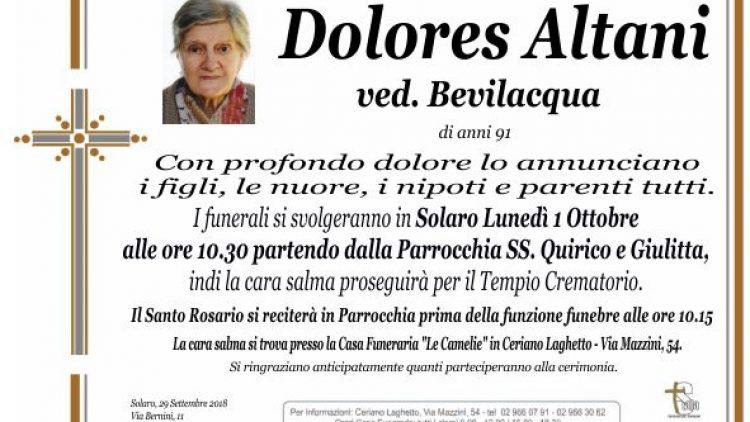 Altani Dolores
