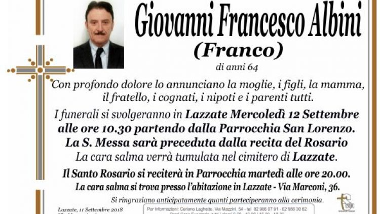Albini Giovanni Francesco