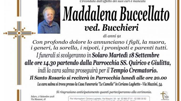 Buccellato Maddalena