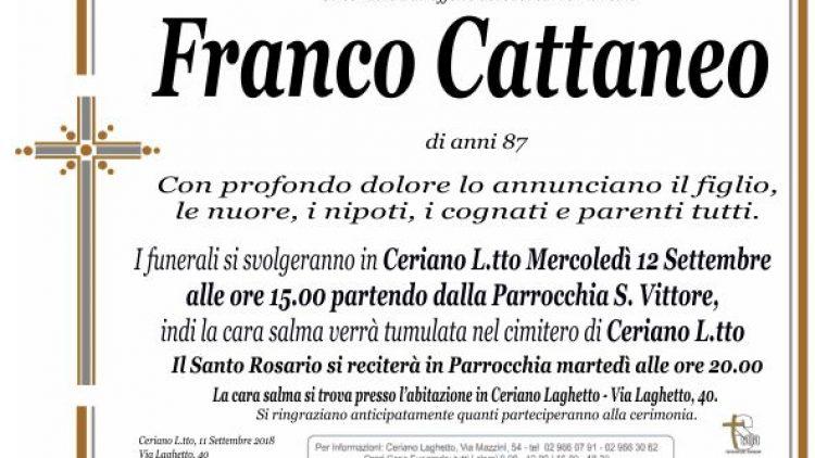 Cattaneo Franco