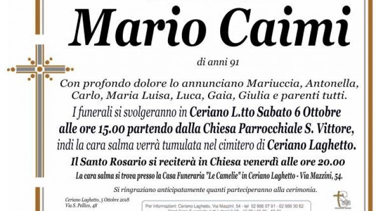 Caimi Mario