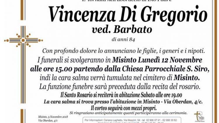 Di Gregorio Vincenza