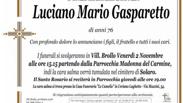 Gasparetto Luciano