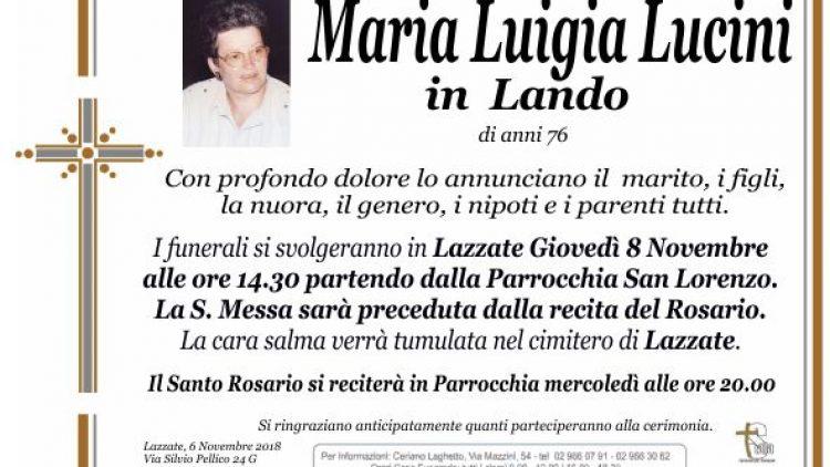 Lucini Maria Luigia