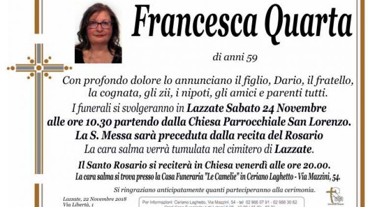Quarta Francesca