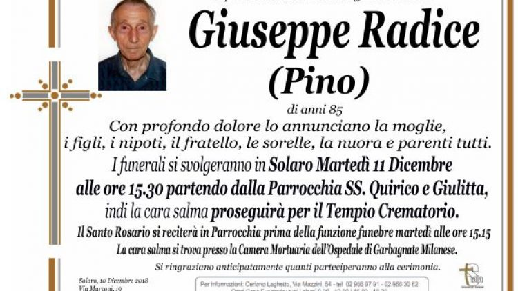 Radice Giuseppe