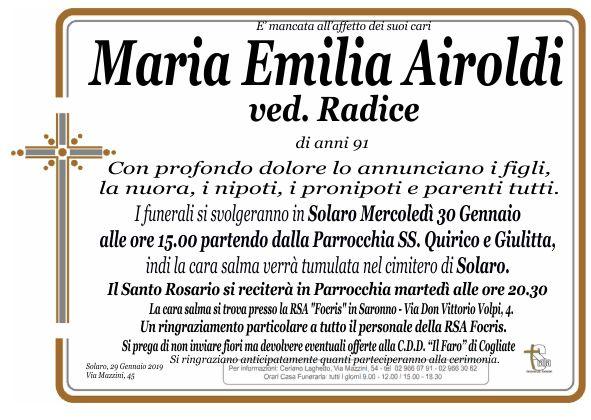Airoldi Maria Emilia