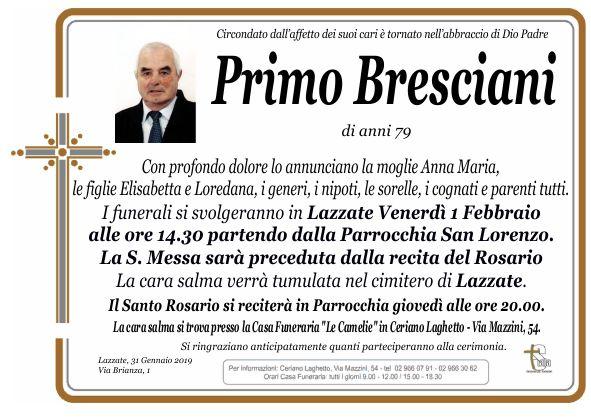 Bresciani Primo