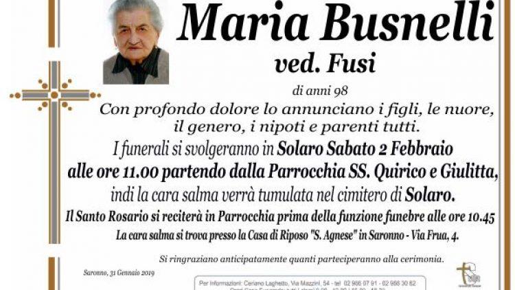 Busnelli Maria
