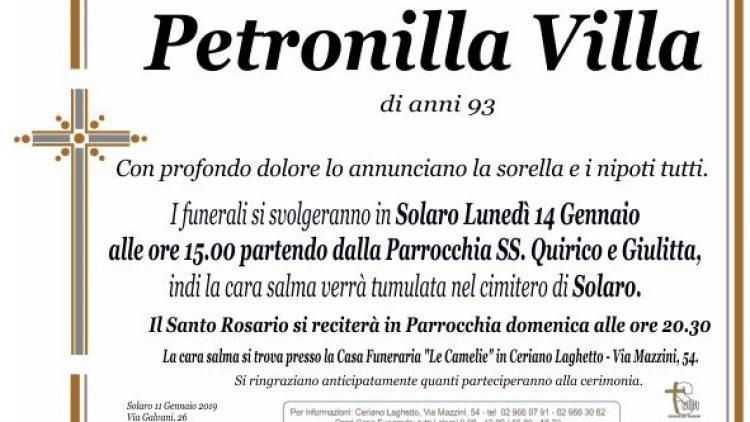 Villa Petronilla