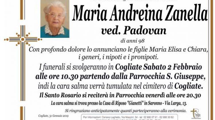 Zanella Maria Andreina