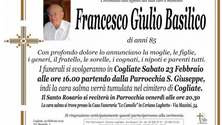 Basilico Francesco Giulio