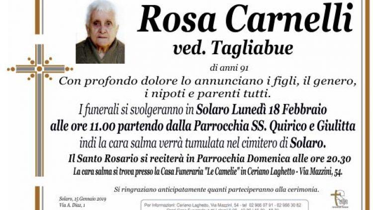 Carnelli Rosa
