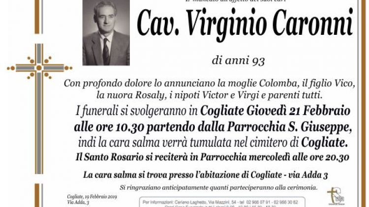 Caronni Virginio