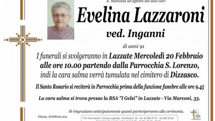 Lazzaroni Evelina