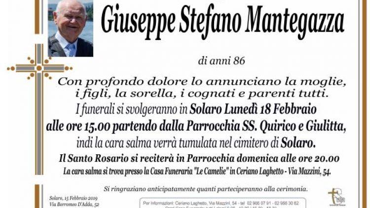 Mantegazza Giuseppe Stefano