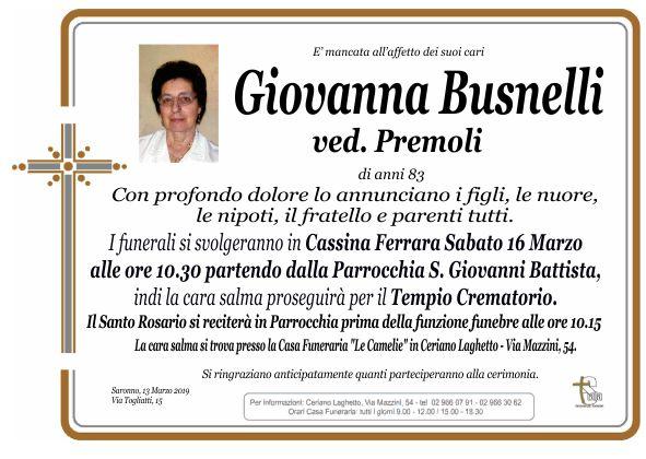 Busnelli Giovanna