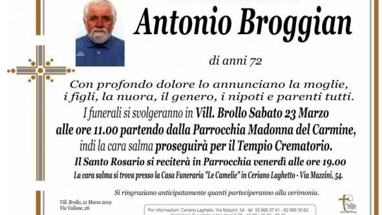 Broggian Antonio