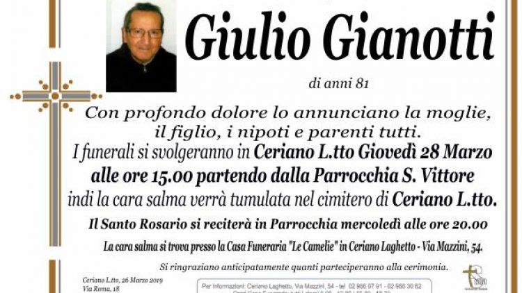 Gianotti Giulio