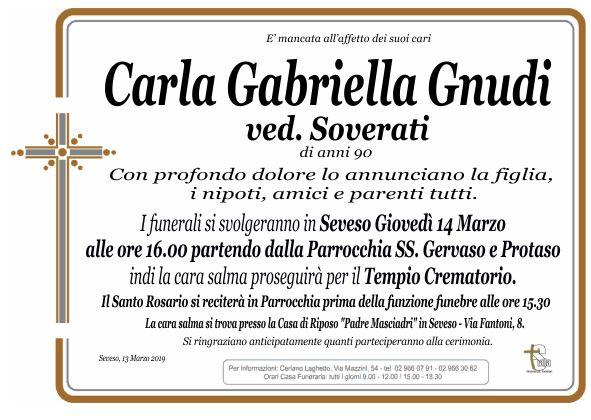 Gnudi Carla Gabriella