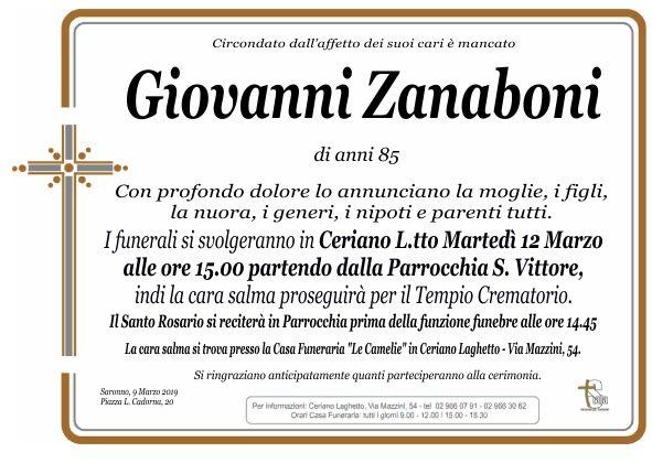Zanaboni Giovanni