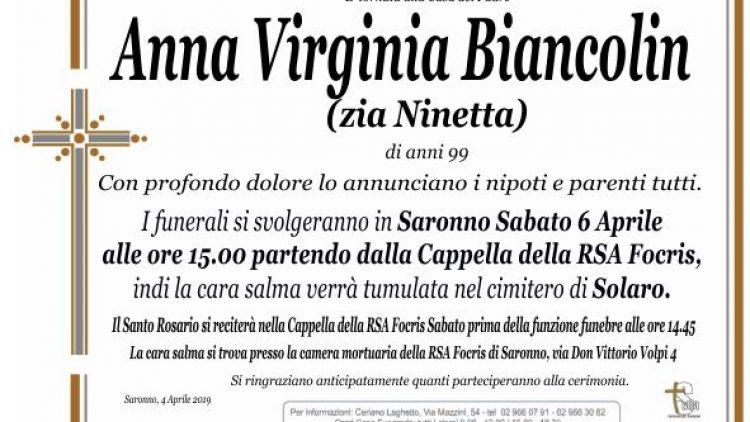 Biancolin Anna Virginia
