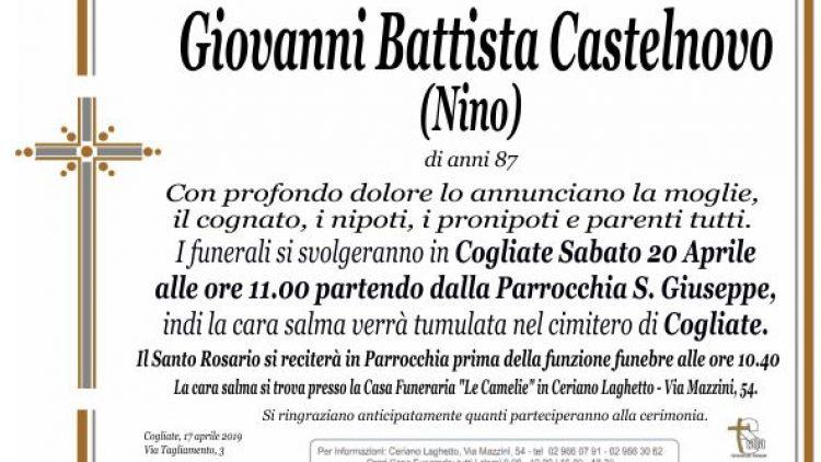 Castelnovo Giovanni Battista