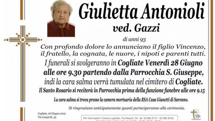 Antonioli Giulietta