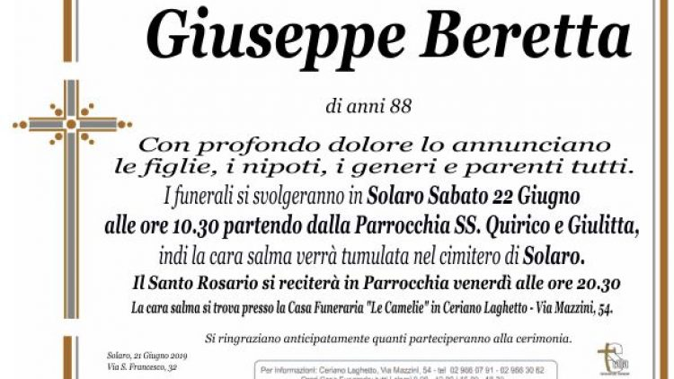 Beretta Giuseppe