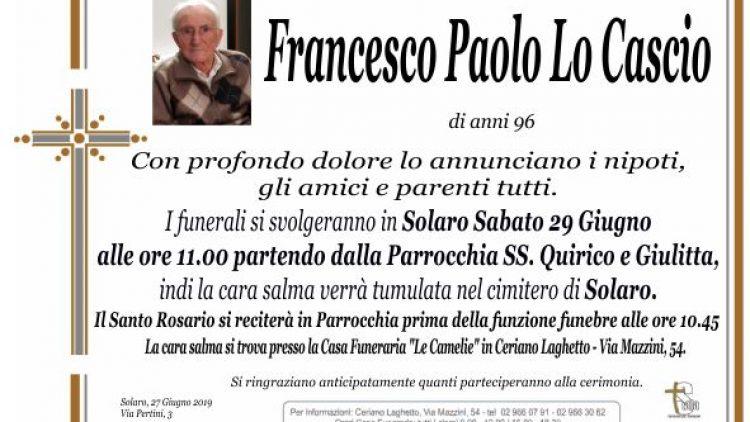 Lo Cascio Francesco Paolo