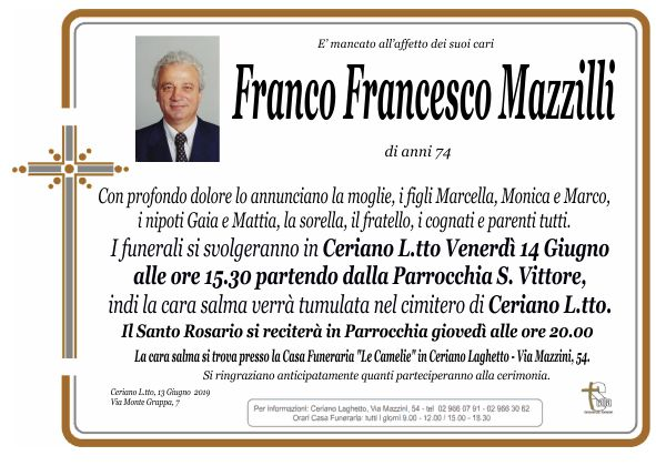 Mazzilli Franco Francesco