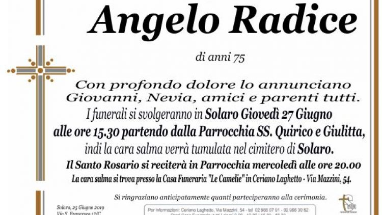 Radice Angelo