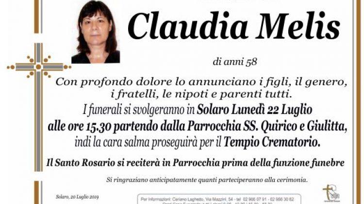 Melis Claudia