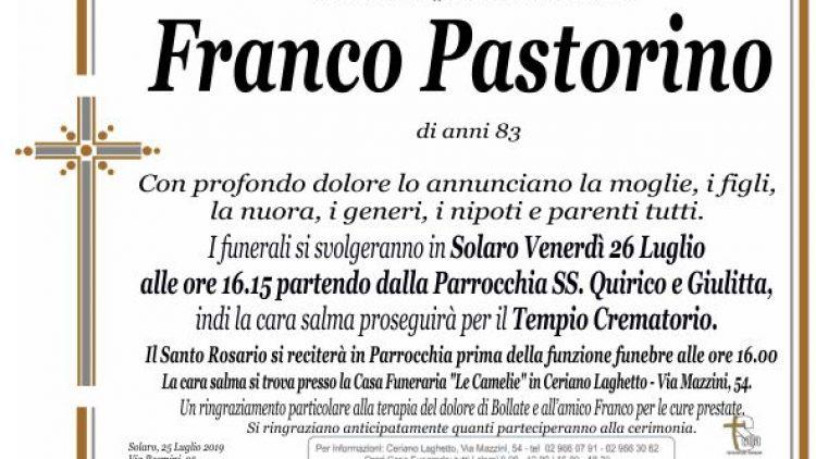 Pastorino Franco