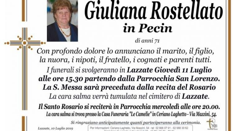 Rostellato Giuliana