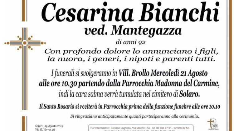 Bianchi Cesarina