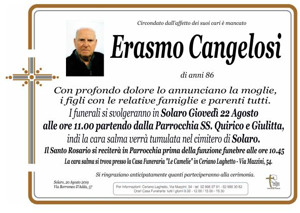 Cangelosi Erasmo