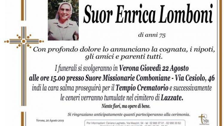 Suor Enrica Lomboni