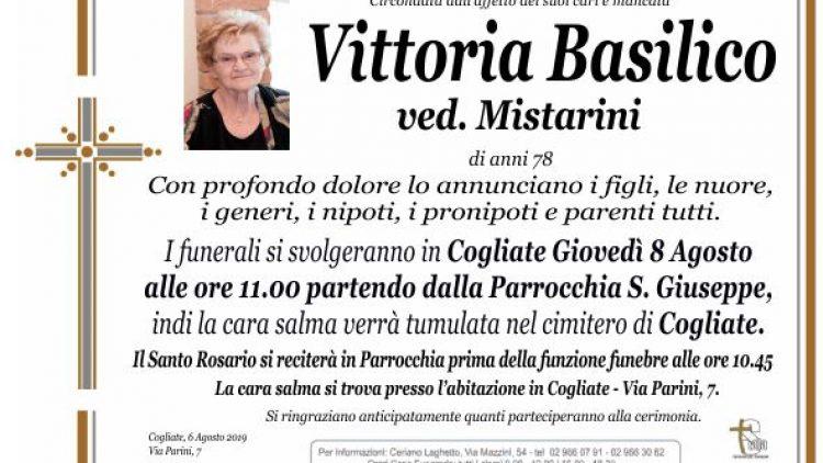 Basilico Vittoria