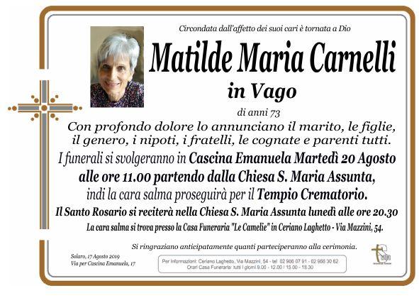 Carnelli Matilde Maria