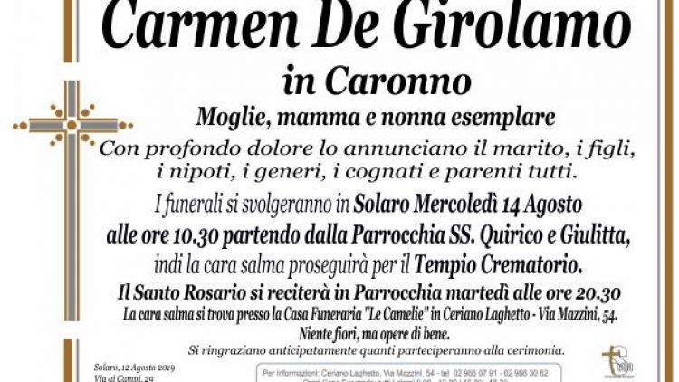 De Girolamo Carmen