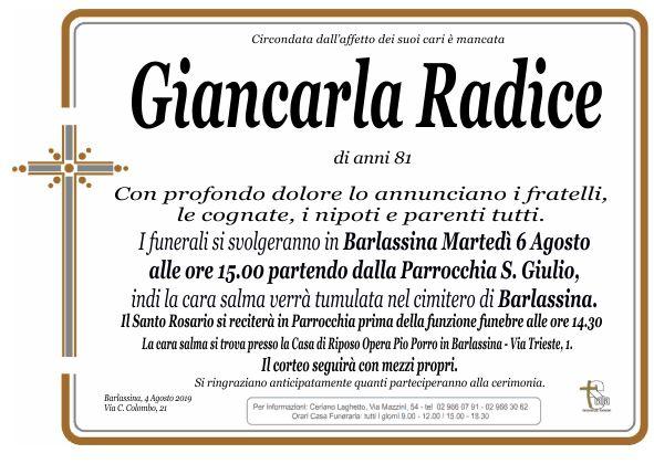 Radice Giancarla