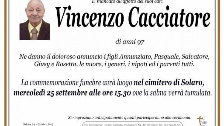 Cacciatore Vincenzo