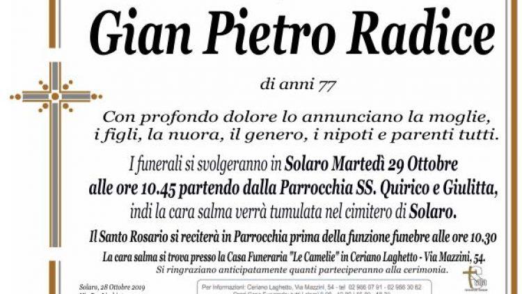 Radice Gian Pietro